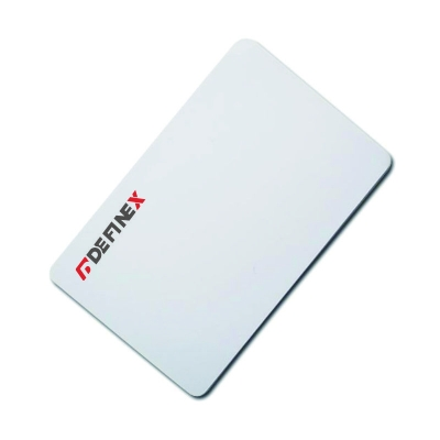 Blank ID White Card